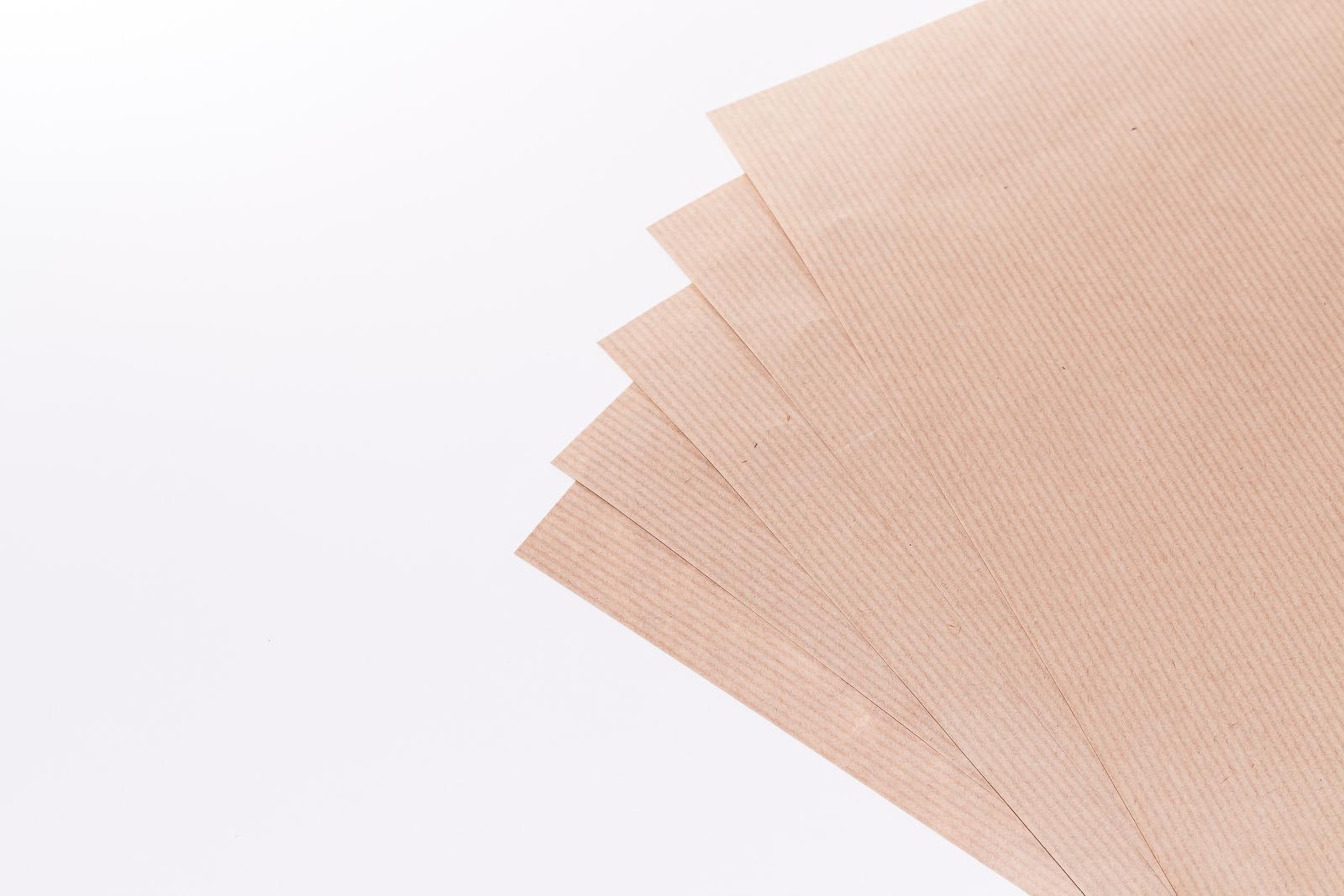 Kraftpapier braun, Bogen
