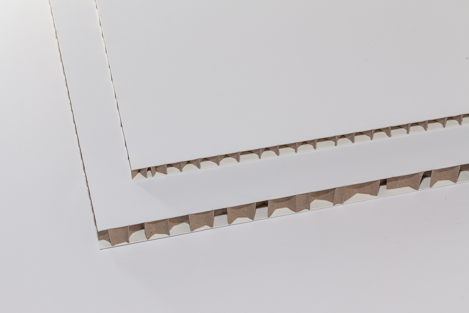 Deko-Wabenplatten weiss