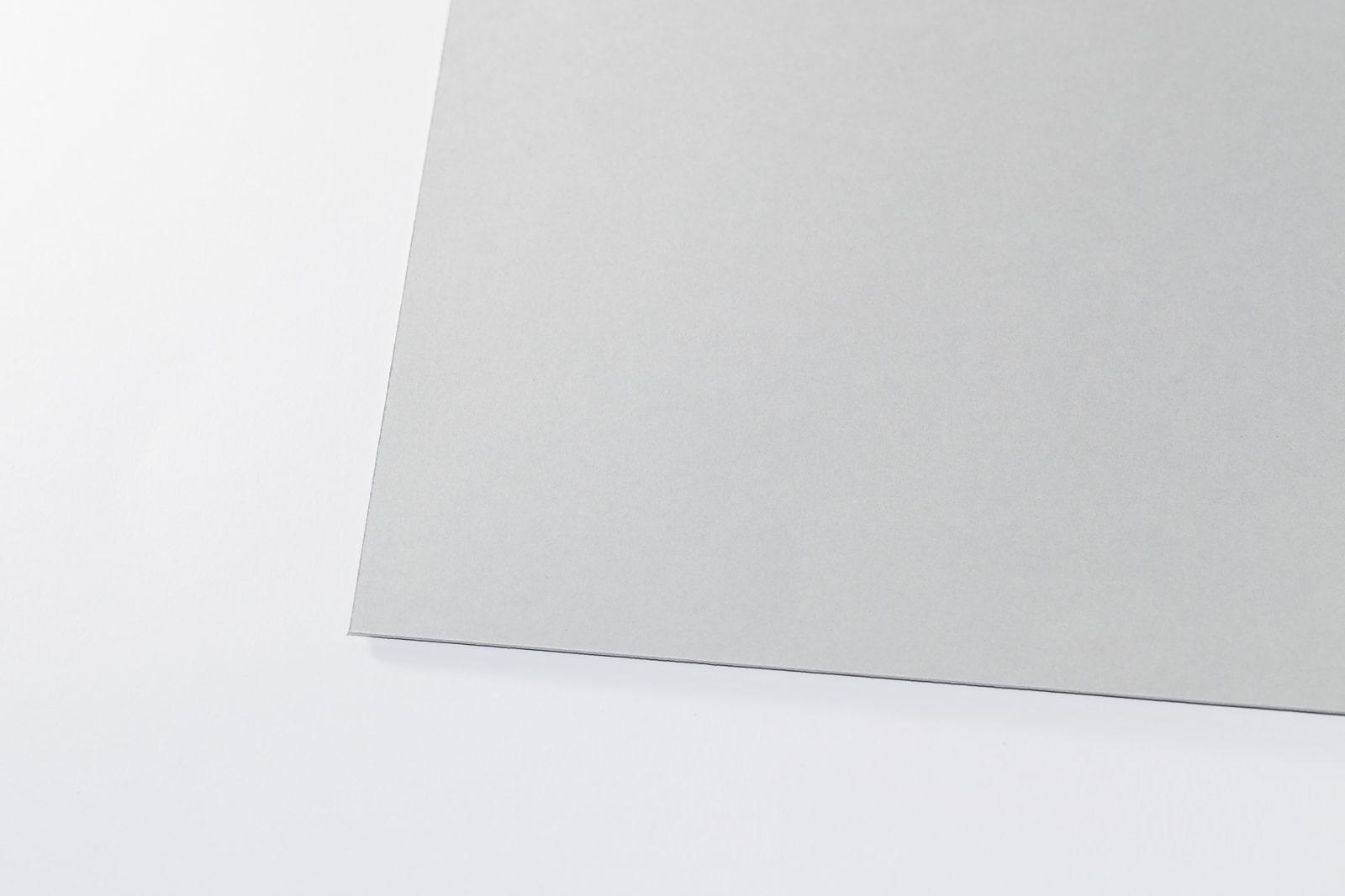 Eine Aufnahme unseres Archiv-Karton grau in einer Stärke