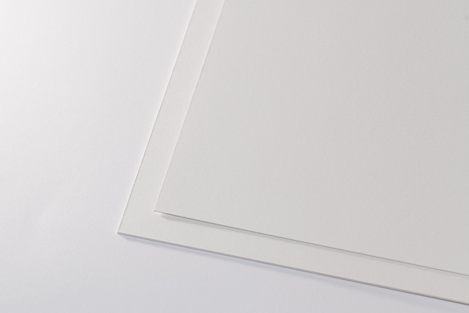 Passepartoutkarton classic creme/weiß
